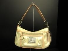 COACH(コーチ)のポピー スパークル レザー グルーヴィーのハンドバッグ