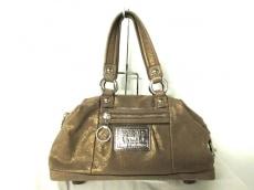 COACH(コーチ)のポピー レザー ルクシー サッチェルバッグのハンドバッグ