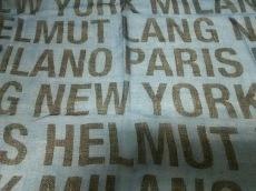 Helmut Lang(ヘルムートラング)のスカーフ