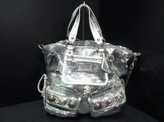 COACH(コーチ)のポピー トート スパンコール スポットライトのトートバッグ