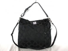 COACH(コーチ)のマディソン オプアート サティーン イサベルのハンドバッグ