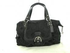 COACH(コーチ)のキャンベル シグネチャー ラージ サッチェルのハンドバッグ