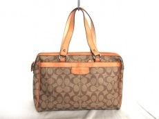 COACH(コーチ)のぺネロピ コンバーチブル シグネチャー ナンシー サッチェルのハンドバッグ