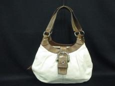 COACH(コーチ)のソーホーブリーテッドレザースモールハンドバッグのハンドバッグ