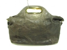 アナザーアングルのハンドバッグ