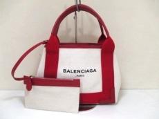 BALENCIAGA(バレンシアガ)のネイビーカバスXSのトートバッグ