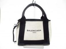 BALENCIAGA(バレンシアガ)のネイビーカバスXSのハンドバッグ