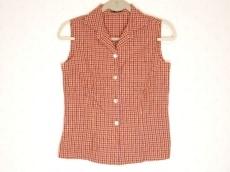 オックスフォードのシャツブラウス