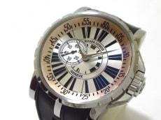 reputable site 22f38 4d1ce 美品 ロジェデュブイ 腕時計 エクスカリバー EX457793.7AR ...