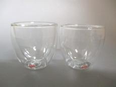 ボダムのダブルウォールグラス