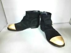 エイチアンドエム×バルマンのブーツ