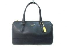 COACH(コーチ)のサフィアーノ レザー ミニ サッチェルのハンドバッグ