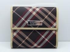 Burberry Blue Label(バーバリーブルーレーベル)/3つ折り財布