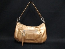 COACH(コーチ)のポピー レザー グルービーのハンドバッグ