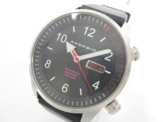 アンドロイドの腕時計