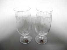 ラスカボヘミアガラスのデュエット