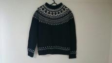 バイアスのセーター
