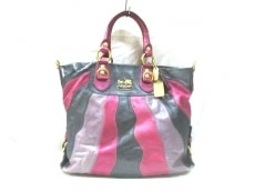 COACH(コーチ)のマディソン レザー オンブレジュリアンのハンドバッグ