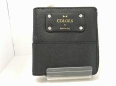 カラーズバイジェニファースカイのWホック財布