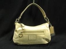 COACH(コーチ)のポピー スパークルレザーのハンドバッグ