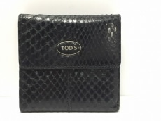 TOD'S(トッズ)/Wホック財布