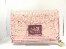 アリスアリサの2つ折り財布