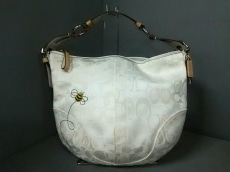 COACH(コーチ)のオプティックシグネチャーのハンドバッグ