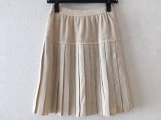 ホワイト イタリヤードのスカート