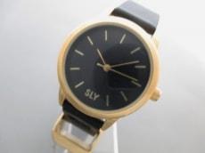 SLY(スライ)の腕時計