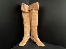コットンクラウドのブーツ