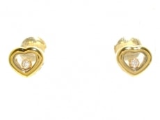 Chopard(ショパール)のハッピーダイヤモンド アイコン イヤリング
