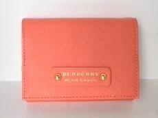 Burberry Blue Label(バーバリーブルーレーベル)/Wホック財布