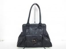 ブラックピースナウのハンドバッグ