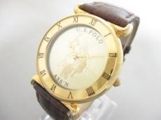 ユーエスポロアソシエーションの腕時計