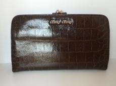 miumiu(ミュウミュウ)/長財布