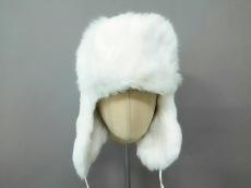 ストラネスブルーの帽子