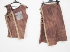 アツロウタヤマのスカートセットアップ