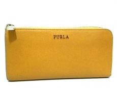 8ae71ea8cae5 FURLA(フルラ) 長財布 オレンジ レザー(12094431)中古|ブランド通販 ...