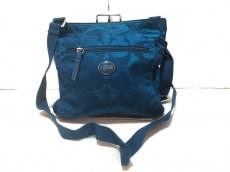 COACH(コーチ)のシグネチャー ナイロン ファイル バッグのショルダーバッグ