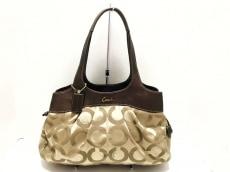 COACH(コーチ)のレキシーオプアート サティーン サッチェルのショルダーバッグ