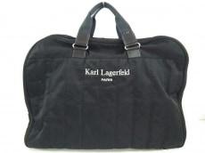 KARL LAGERFELD(カールラガーフェルド)/ボストンバッグ