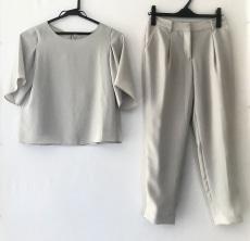 PLS+T(PLST)(プラステ)/レディースパンツスーツ