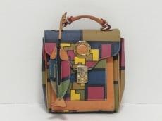 ダブルフィッシュのハンドバッグ
