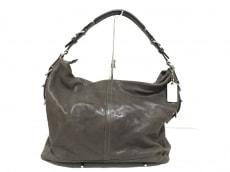 COACH(コーチ)のハリソンレザー サッチェルのハンドバッグ