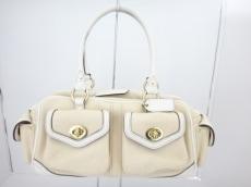 COACH(コーチ)のニュー キャンバススモールポケットサッチェルのハンドバッグ
