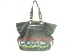 COACH(コーチ)のポピーラインストーンエクストララージスポットライトのショルダーバッグ