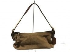 COACH(コーチ)のパンプトンズ スウェード ソフトデミのハンドバッグ