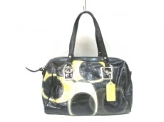 COACH(コーチ)のインレイドC パッチワーク レザー コンバーチブル サッチェルのハンドバッグ