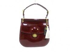 COACH(コーチ)のパテントレザーニューウィリスのハンドバッグ