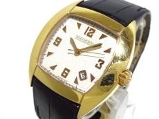 BOUCHERON(ブシュロン) メック/レディース/K18YG/革ベルト/裏スケ 腕時計 買取実績